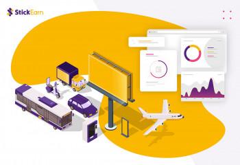 Mengenal Media Iklan Inovatif dari StickEarn, Iklan OOH dengan Pendekatan Digital