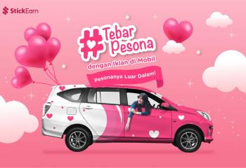 #TebarPesona dengan Iklan di Mobil, Pesonanya Luar Dalam!