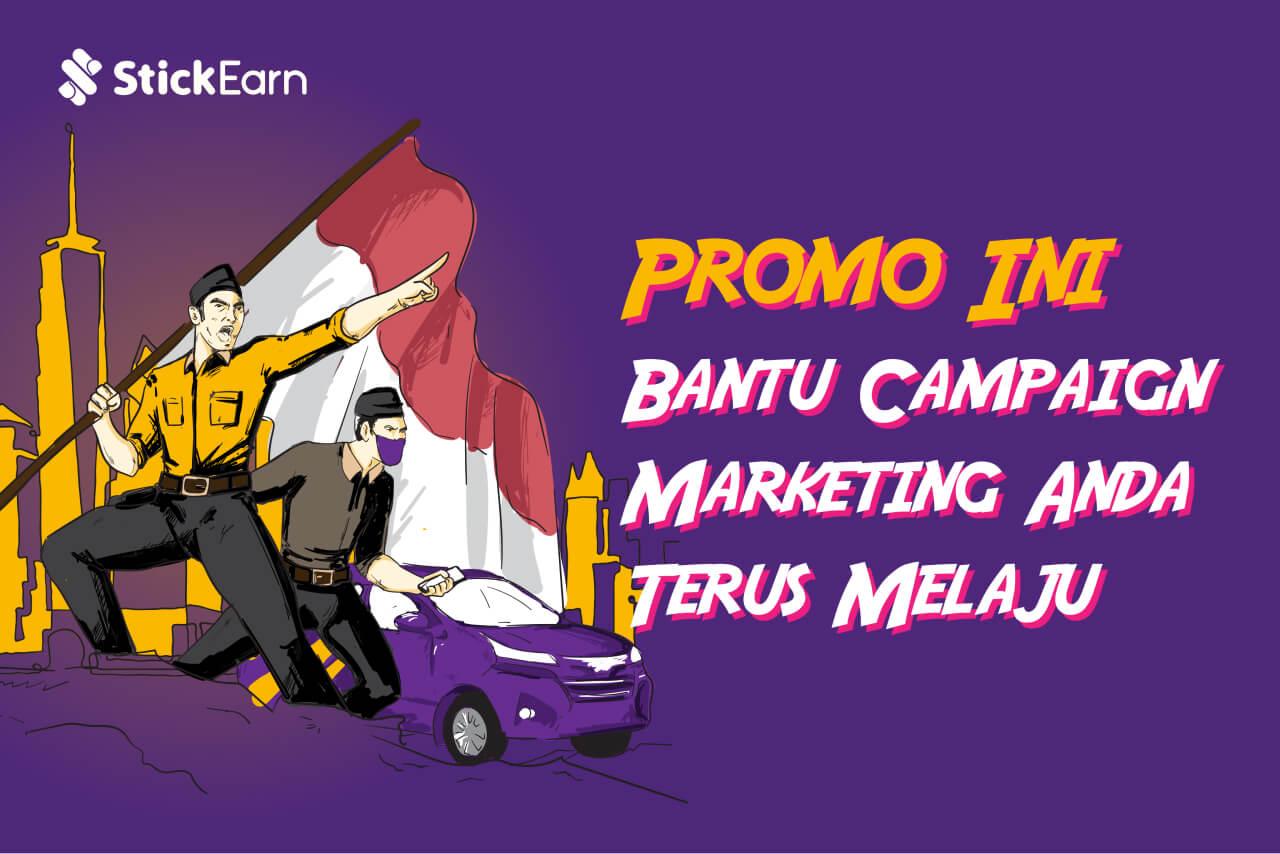 Promo Ini Bantu Campaign Marketing Anda Terus Melaju
