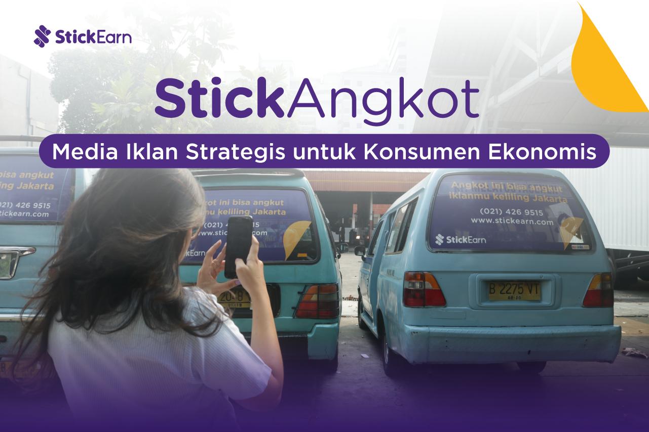 StickAngkot: Media Iklan Strategis untuk Konsumen Ekonomis